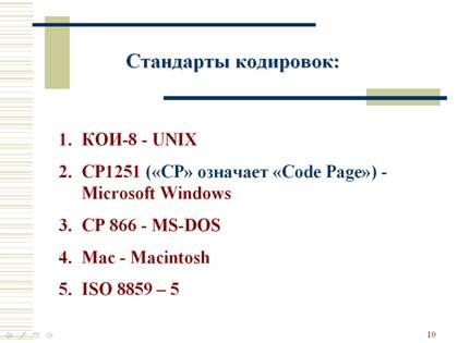 Encodage Des Informations Textuelles Encodage Binaire Des Informations Textuelles Dans Un Ordinateur